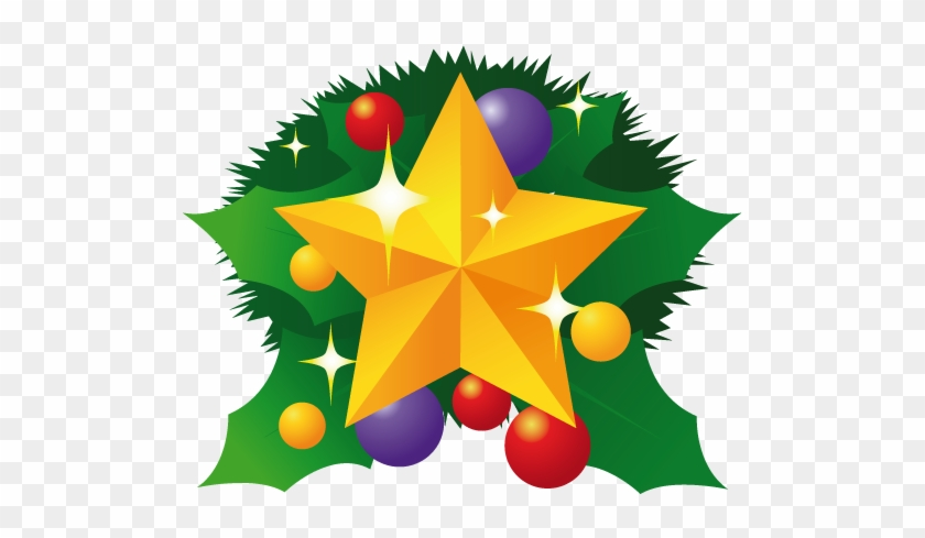 Fire Drill Clip Art Item - Christmas Tree Star Cartoon #258362