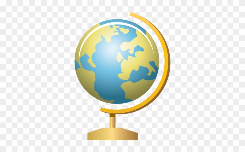 Globe On Stand Clipart #258594