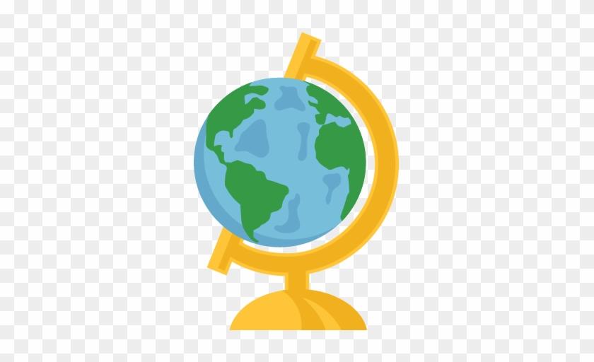 Globe Svg Scrapbook Cut File Cute Clipart Files For - Cute Pictures Of Globe #258723