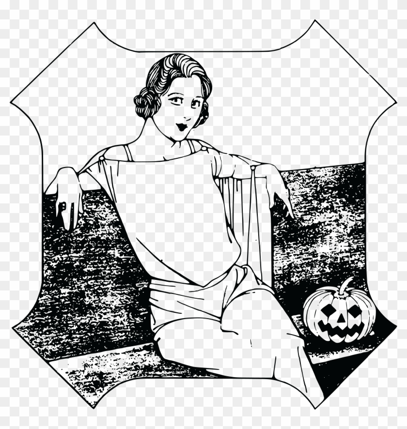 Free Clipart Of A Halloween Lady - Happy Halloween Girl T-shirt Costume Gift Trick Or #258956