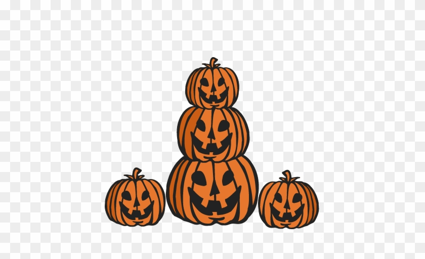 Jack O Lanterns Set Svg Cutting Files Pumpkin Svg Cuts - Jack-o'-lantern #259025