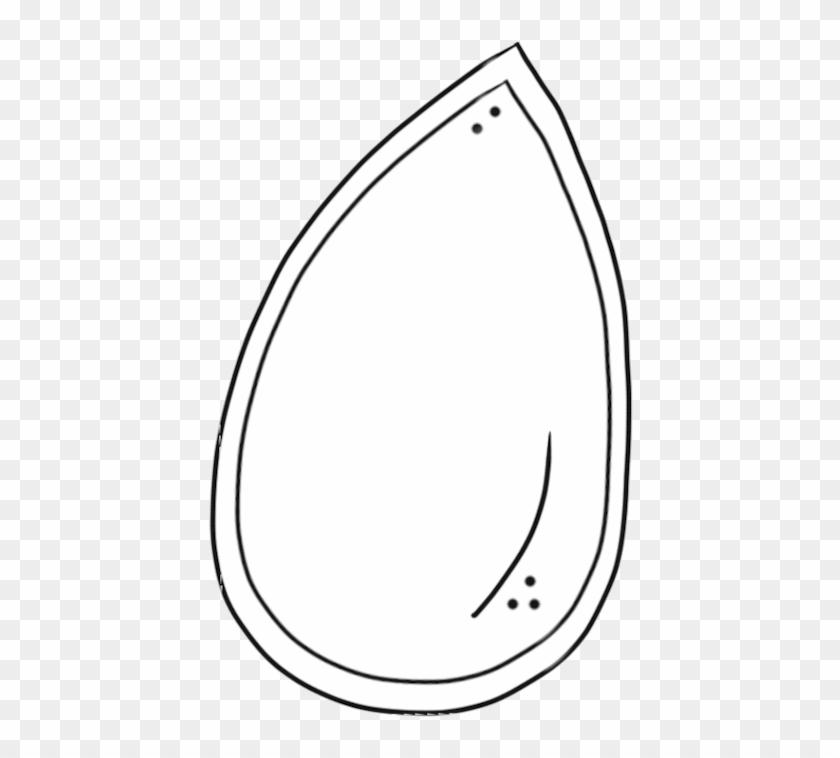 Seed Clip Art - Pumpkin Seed Clip Art #259271