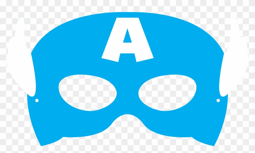 Comprojectavengers Inspired Masks Captain America Mask Template