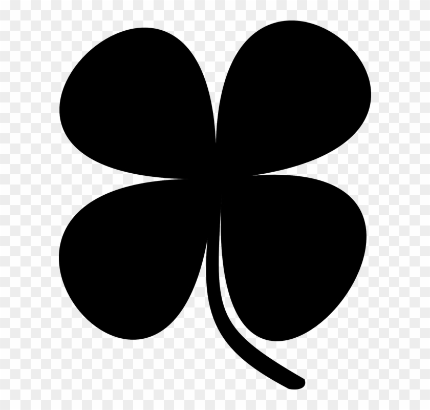 Clever Design Ideas Shamrock Clipart Clip Art At Clker - Black And White Shamrock Clipart #259524