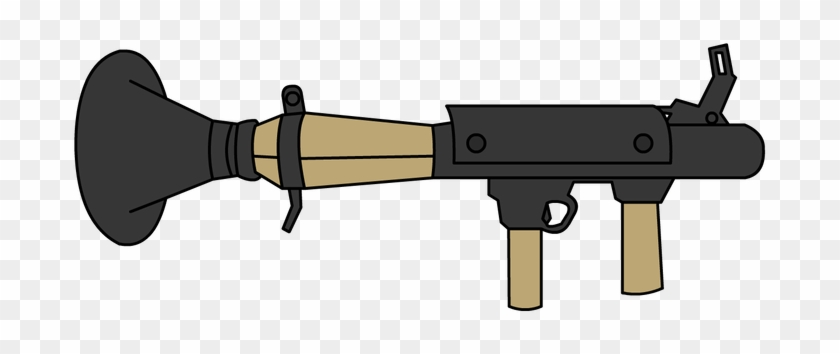 Tf2 Default Rocket Launcher By Unknownfalling On Deviantart - Tf2 Rocket Launcher Png #1685315