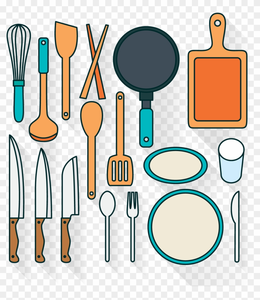 Knife Tableware Kitchen - Kitchen Tools Vector Png #1685548
