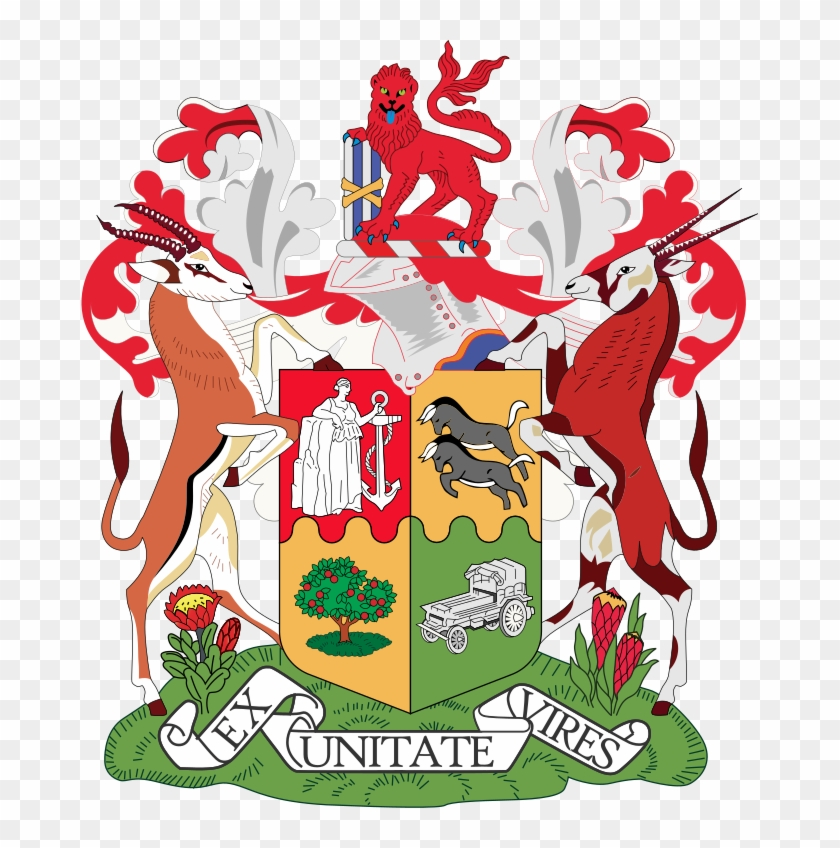 Population Registration Act, - Old Sa Coat Of Arms #1686894