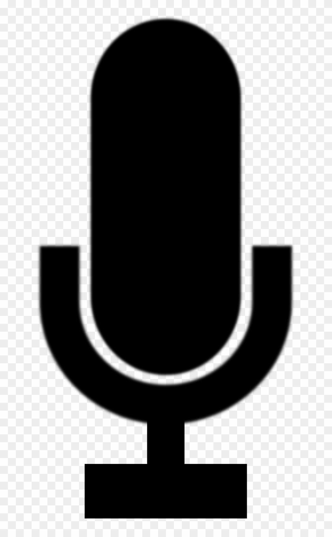 Gambar Microphone Hitam Putih Free Transparent PNG Clipart