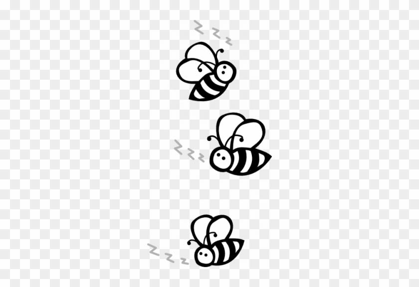 Black And White Shrimp Clipart 104691 15 Buzz Clip - Buzzing Bee Clipart Black And White #1690048
