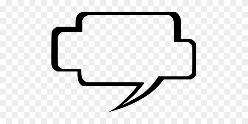 Download Speech Balloon Adaptation Computer Icons - Comic Book Text Bubbles #1690114