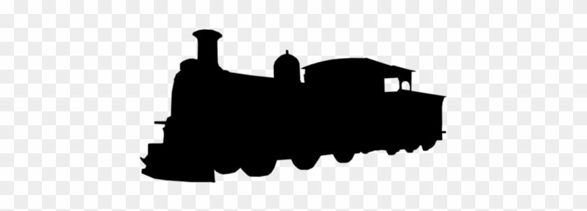 Train Silhouette Train Silhouette Train Silhouette - Locomotive #1690126
