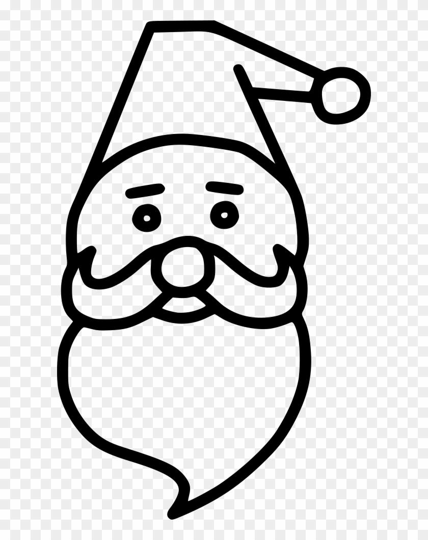 Santa Claus Beard Cap Comments - Santa Claus Beard Cap Comments #1690332