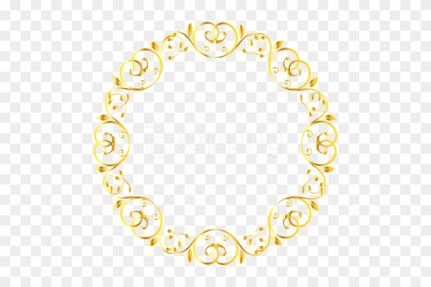 Free Png Download Decorative Round Border Frame Clipart - Cute Borders S #1690806