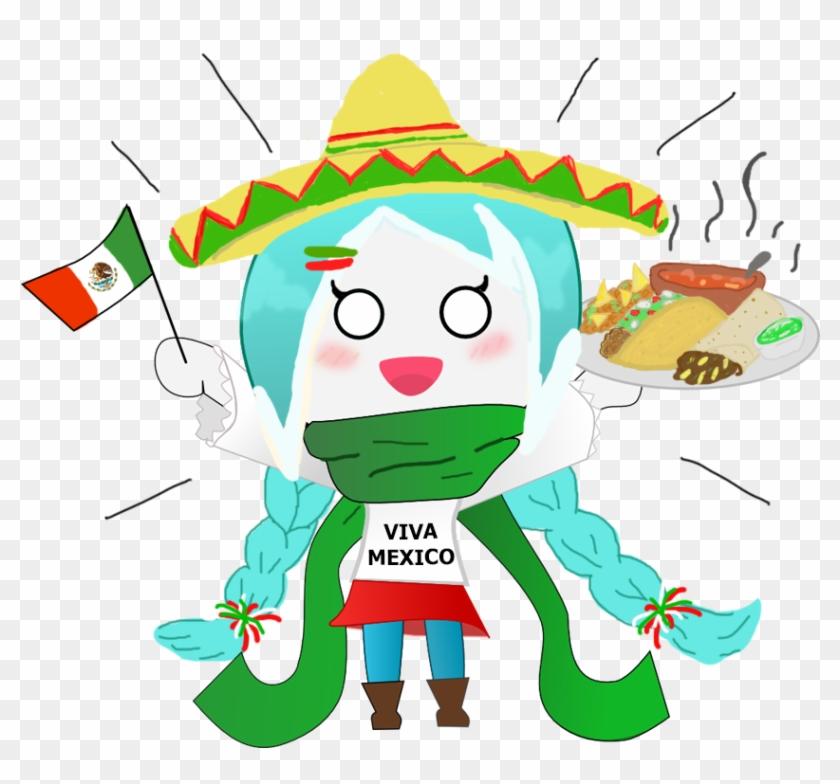 Viva Mexico Con Minimoose By Minimoose1231 Cartoon 1012x771 Png Clipart Download