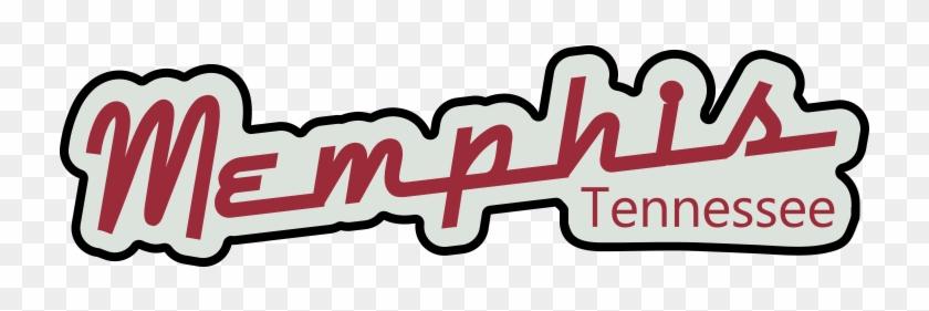 Memphis Tennessee Retro Sign Png Graphic Cave - Memphis Clip Art #1692092