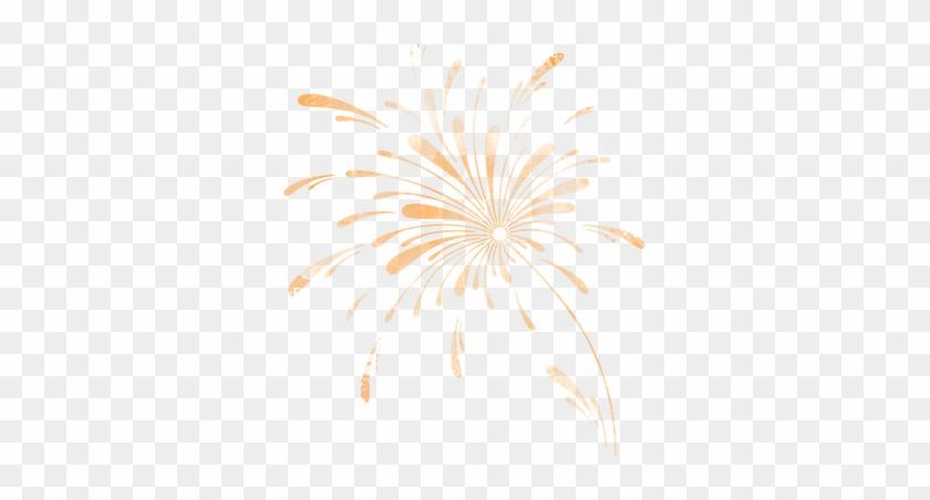 Clip Arts - Firework Orange Png #1693320