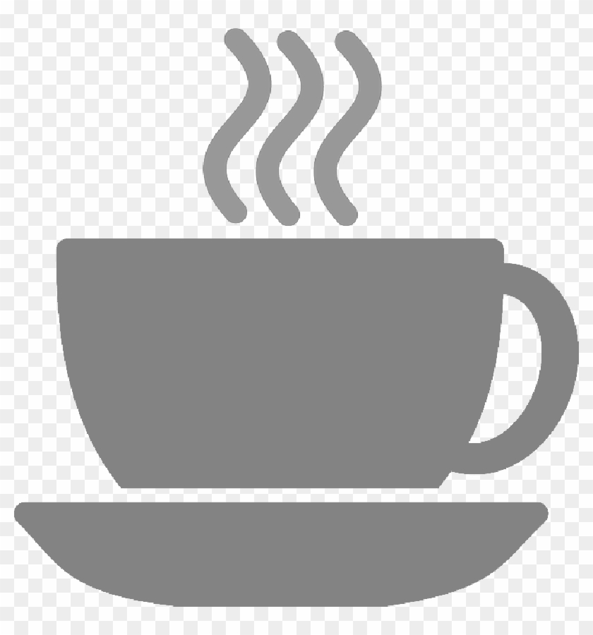 Coffee Cup Silhouette Steam Tea - Coffee Symbol #1694369