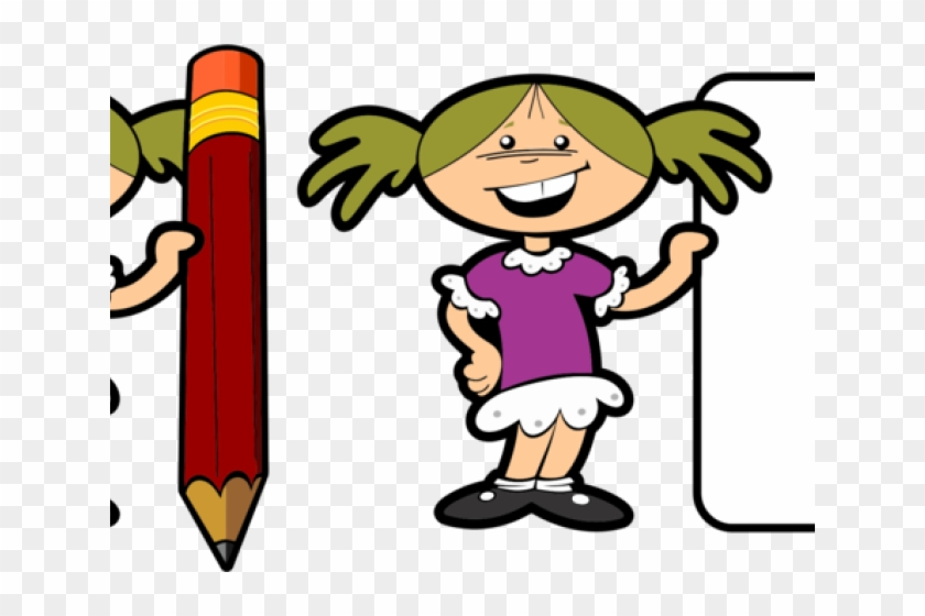 Mystery Clipart Child - Clipart Write A Book Png #1695965