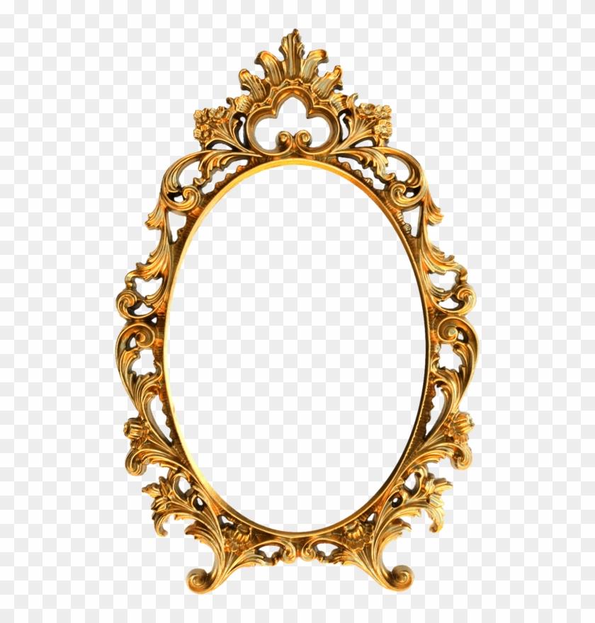 Фото, Автор Arana На Яндекс - Oval Vintage Gold Frame Png #1696215