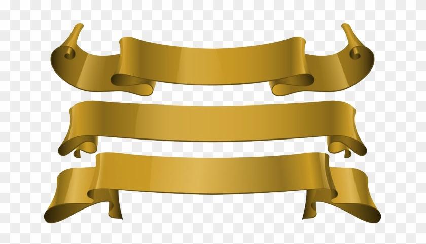 Gold Ribbon Png Download Image - Gold Award Ribbon Png #1698937