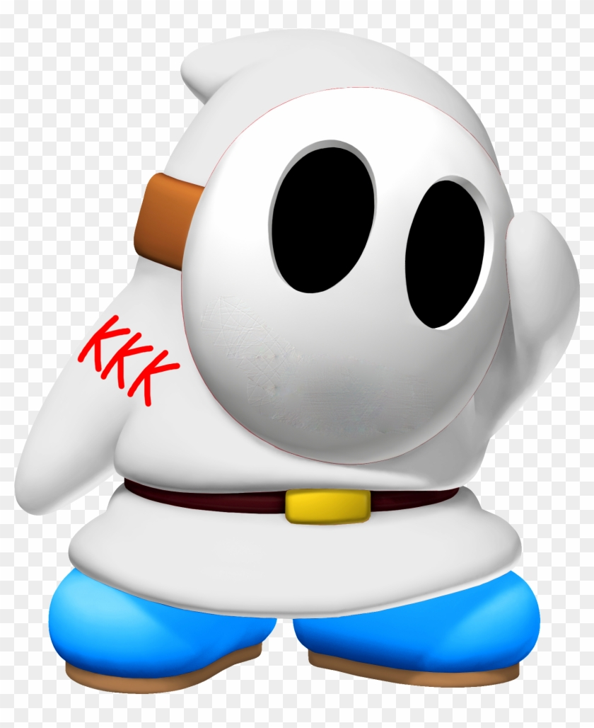 vr/ - Retro Games - White Shy Guy - Free Transparent PNG Clipart