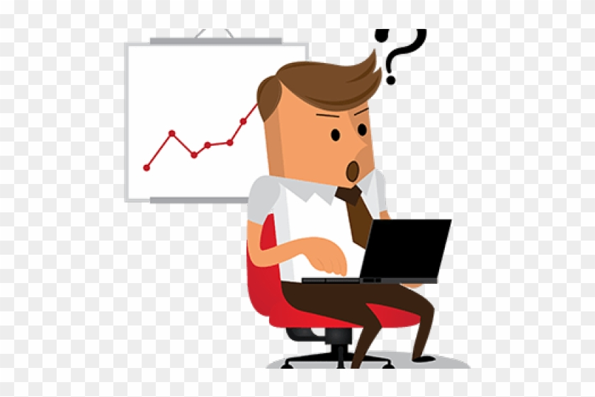 Problem Clipart Business Problem - Thinking Png #1701585