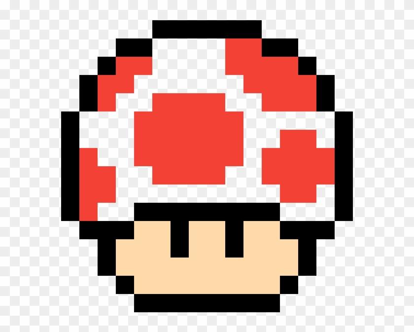 Opposite Mushroom Pixel Art Champignon Mario Free Transparent Png Clipart Images Download