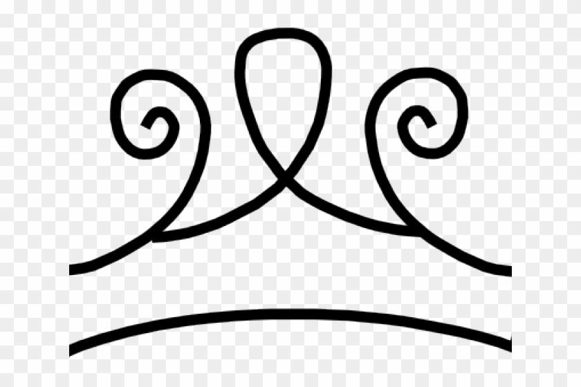 Transparent Black Cliparts - Gold Clipart Princess Crown #1703436