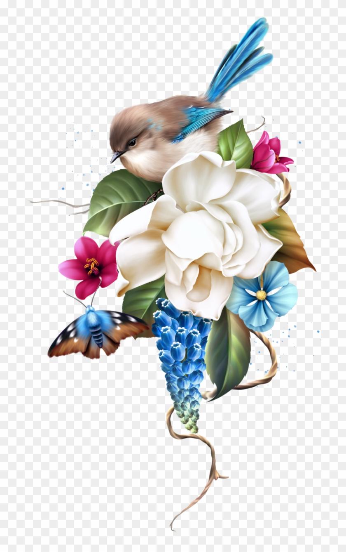 Les Jardin Picture Borders Flower Clipart Flower Bouquet Free Transparent Png Clipart Images Download