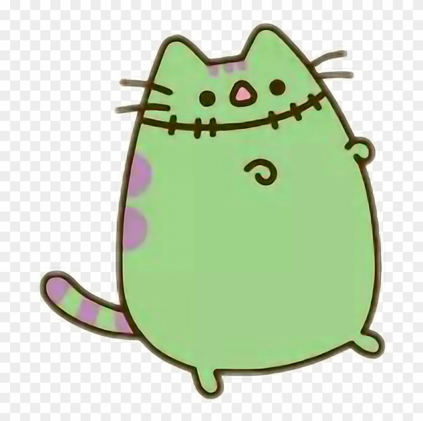 pusheencat pusheen cat frankenstein halloween pusheen cat halloween