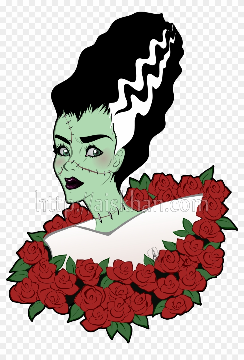 Bride Of Frankenstein - Bride Of Frankenstein Png #259687