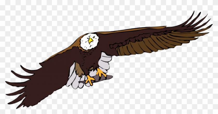 Bald Eagle Vector Graphics - Free Flying Eagle Clipart #259784