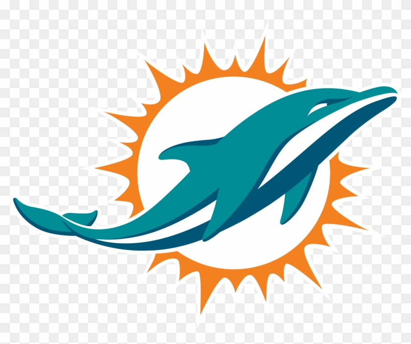 Miami Dolphins Official Website 2017 Season Schedule - Dolphins Logo Png #259787