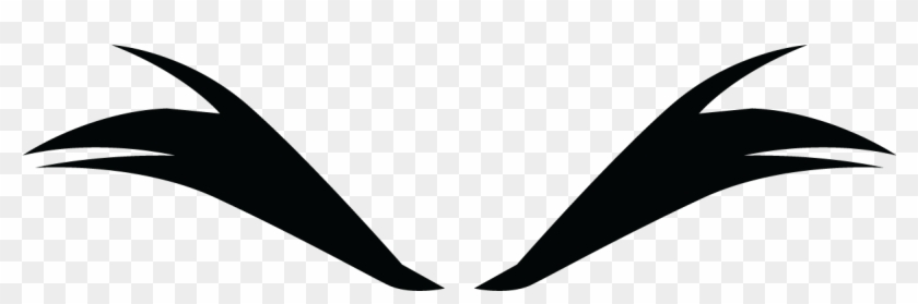 Eyebrows Clipart Black And White #259790