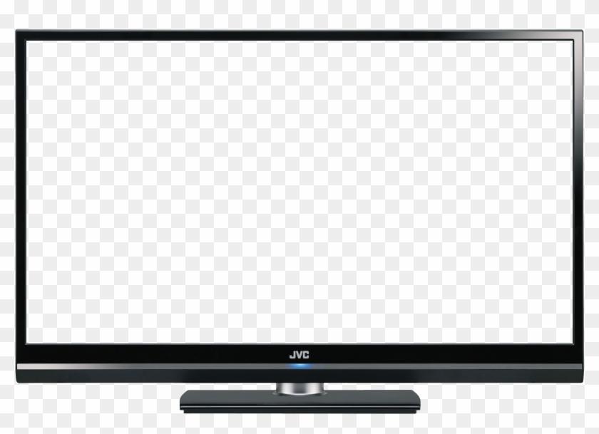 Background Screen Clipart - Transparent Flat Screen Tv #260095