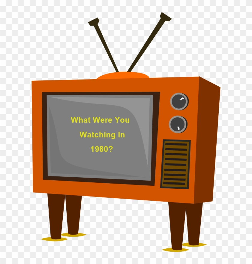 Funky Old Tv Black White Line Art 555px - Old Tv Clipart #260100