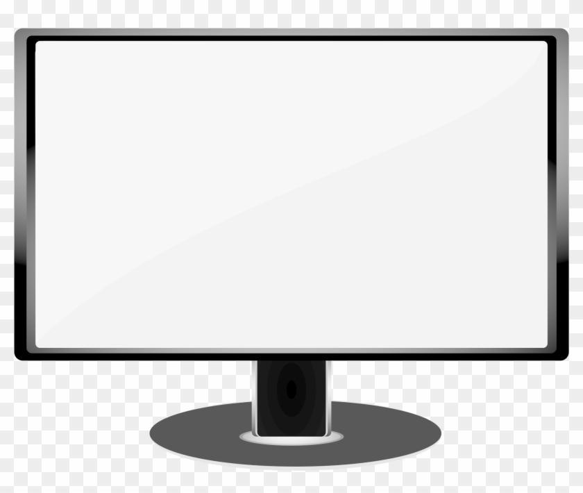 Big Image - Computer Monitor Clip Art #260161