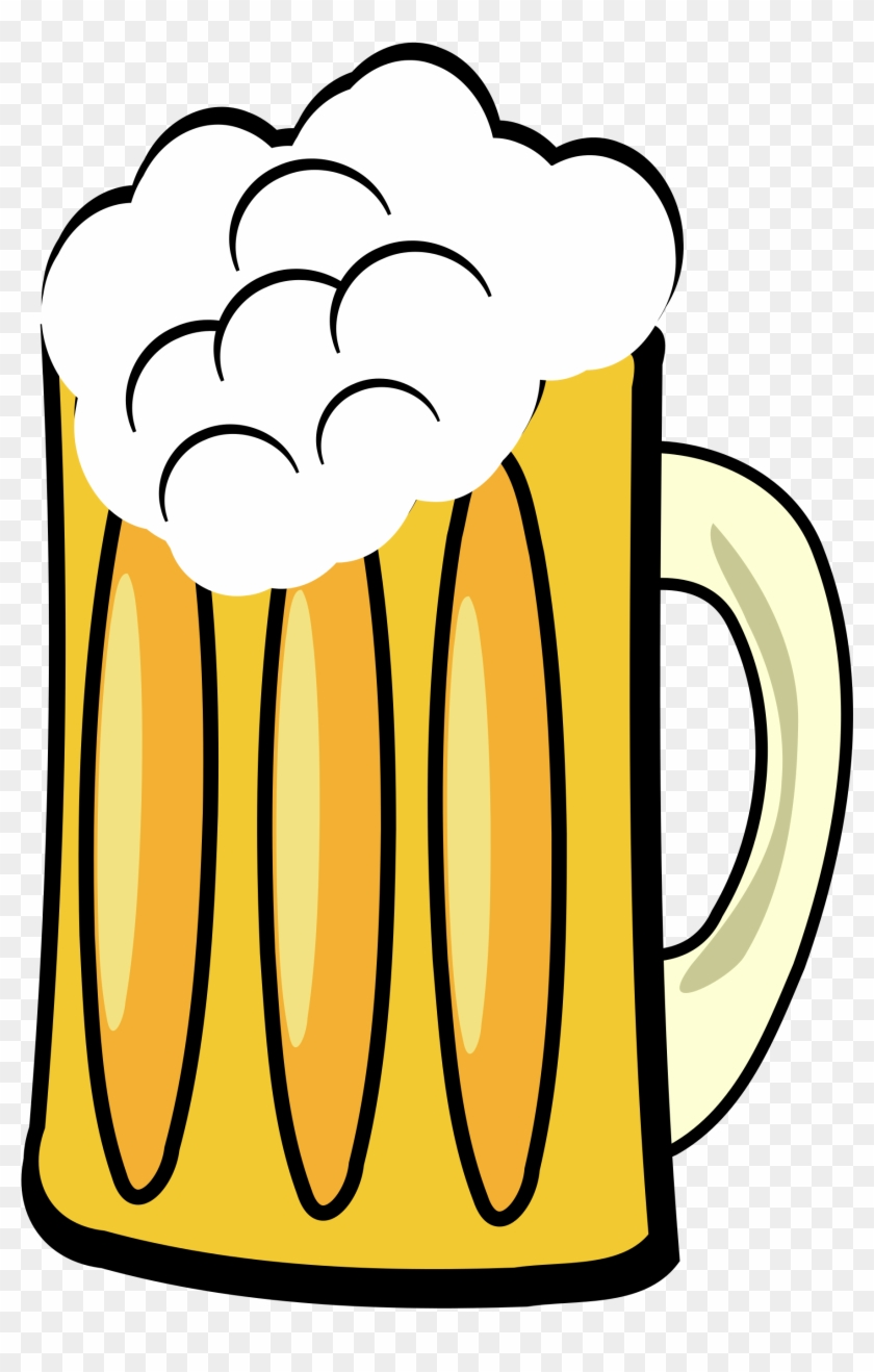 Frosty Beer Mug - Transparent Background Beer Clipart #260294