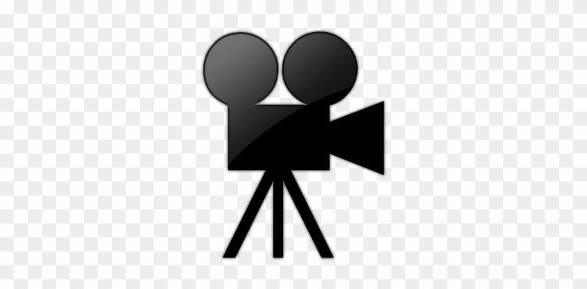 Film - Movie Camera Icon Transparent Background #260384