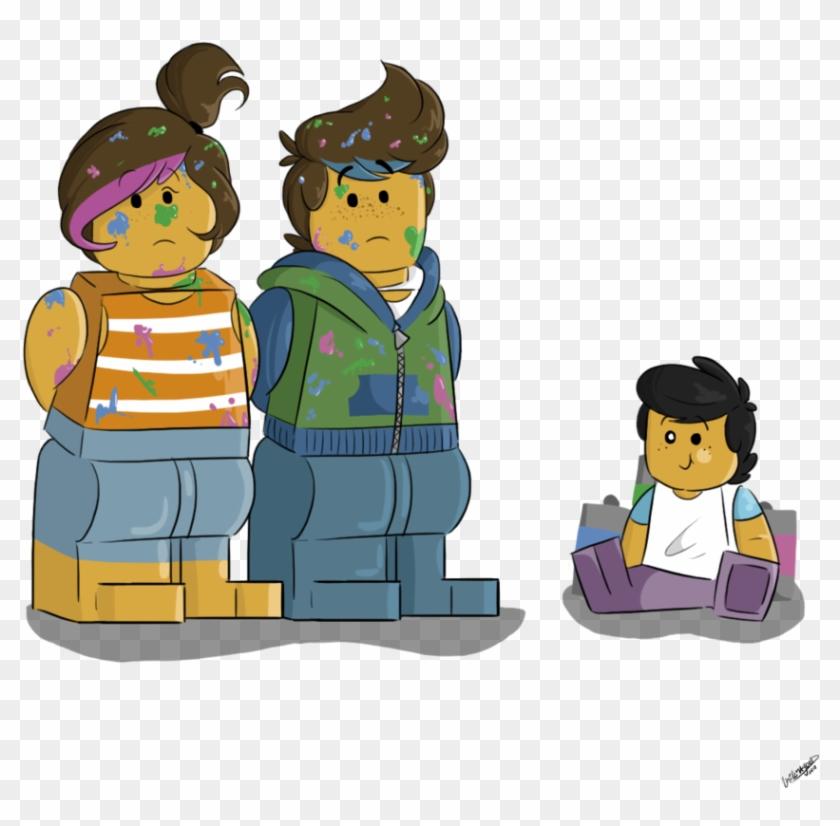Uhhhh He Did It - Lego Batman Movie Family Deviantart #260635