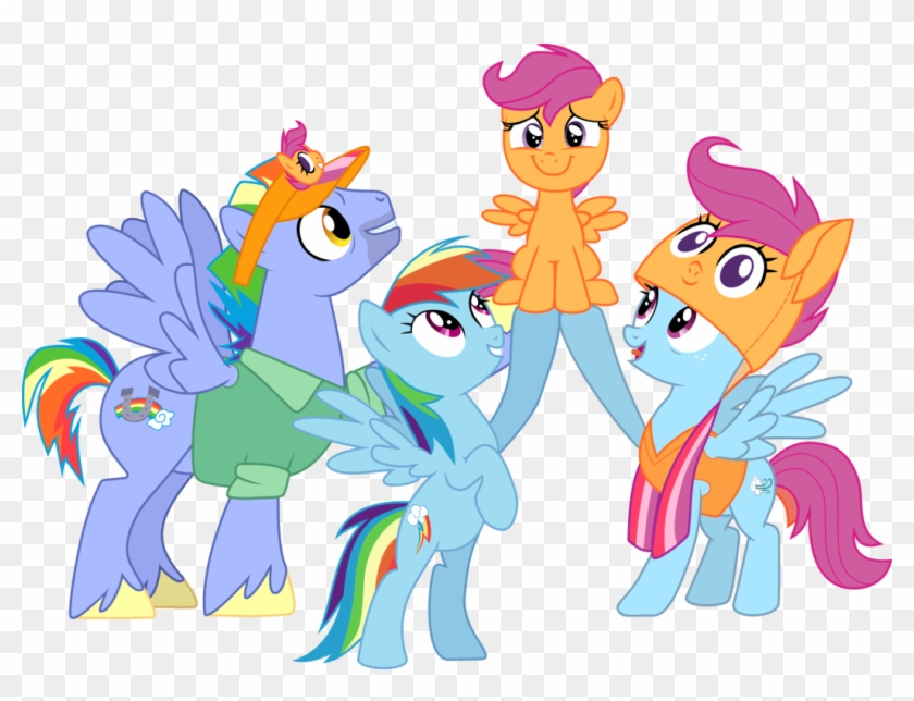 Extended Rainbow Family By Frownfactory - Download Wallpaper My Little Pony #260678