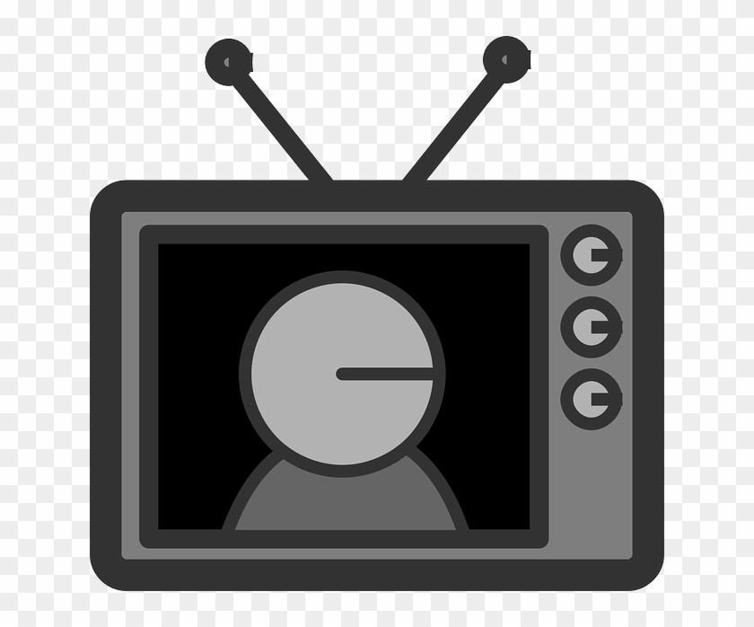 Icon Screen, Flat, Television, Theme, Icon - Tv Clip Art #260785