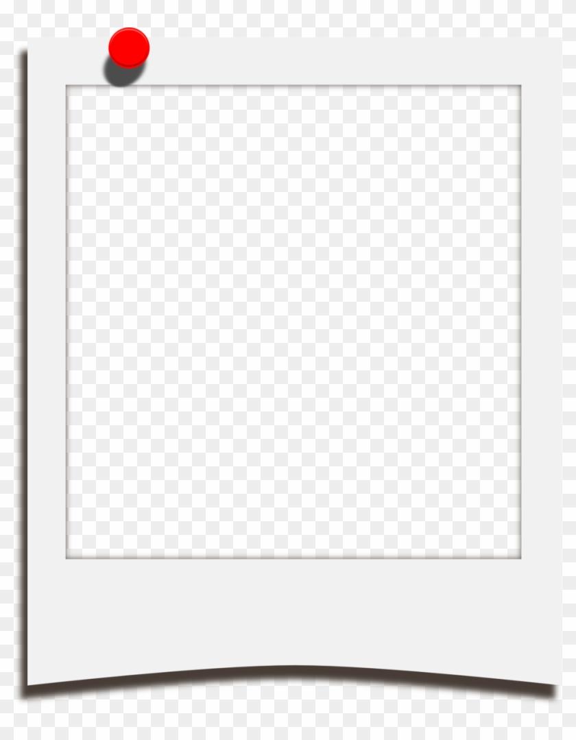 Polaro#pinup-template - Clip Art Polaroid Photo Frame #260851