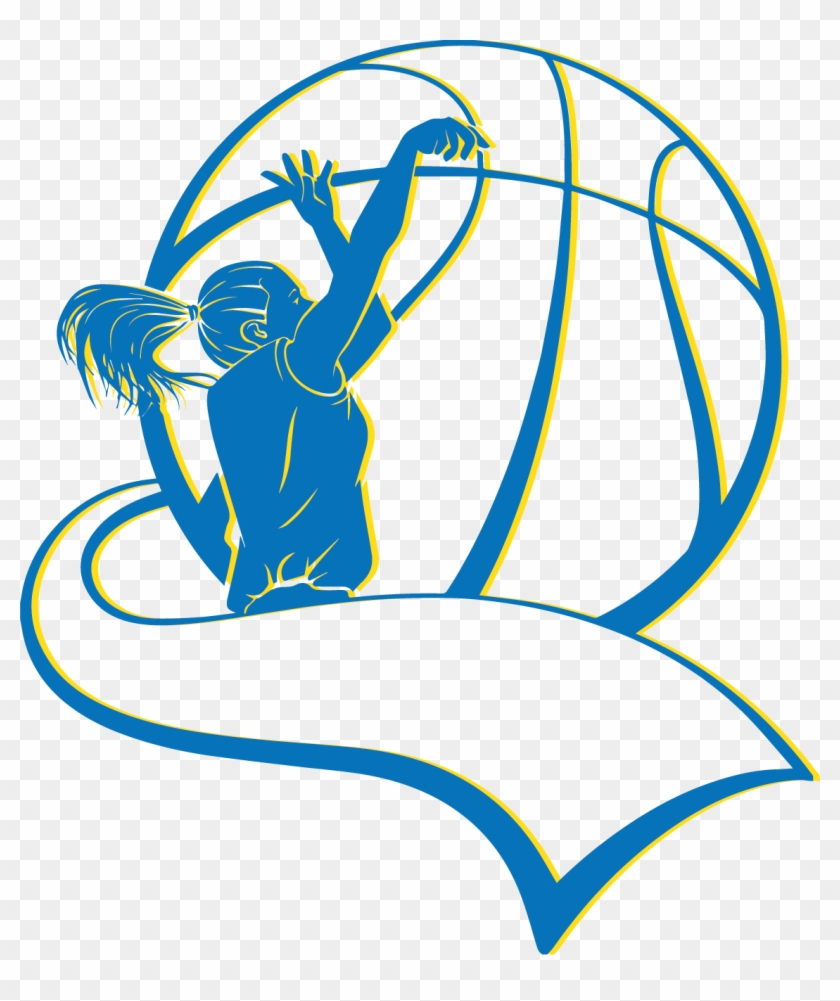Girls Basketball Preview - Girls Basketball Silhouette #260925
