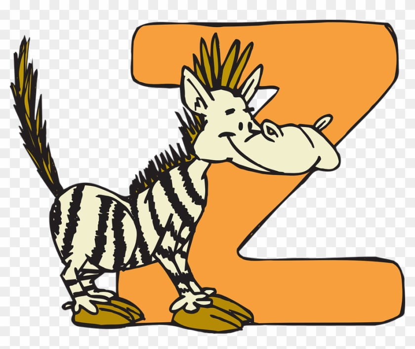 Animal Z Clip Art At Clker - Letters Of The Alphabet #261113