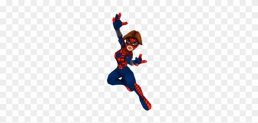 Super Girl Clipart Super Hero Squad - Marvel Super Hero Squad Online Black Suit Spider Girl #261118