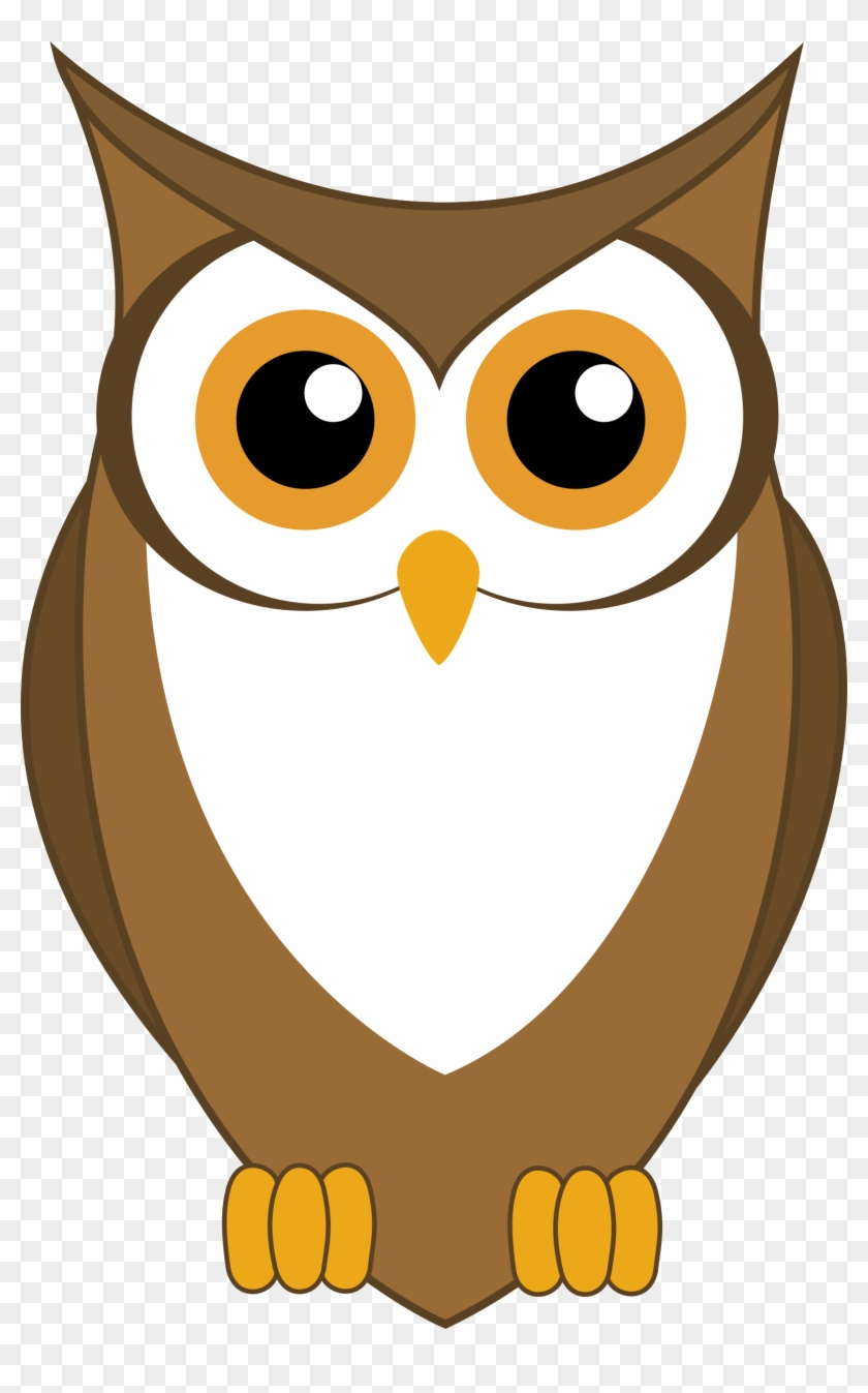 Clipart Of Baby Owl, Clipart Of Cute Owls, Clipart - Owl Vector #261284