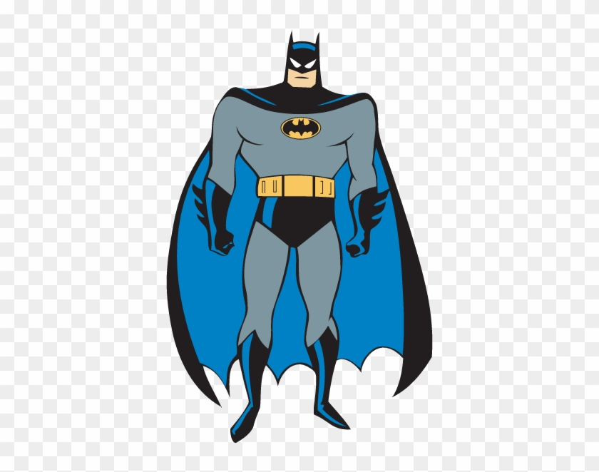 Batman Joker Logo Clip Art - Batman Cartoon With Cape #261504