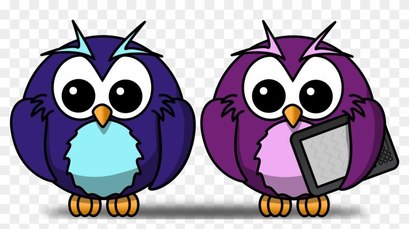 Big Image - Cartoon Owl Shower Curtain #261526
