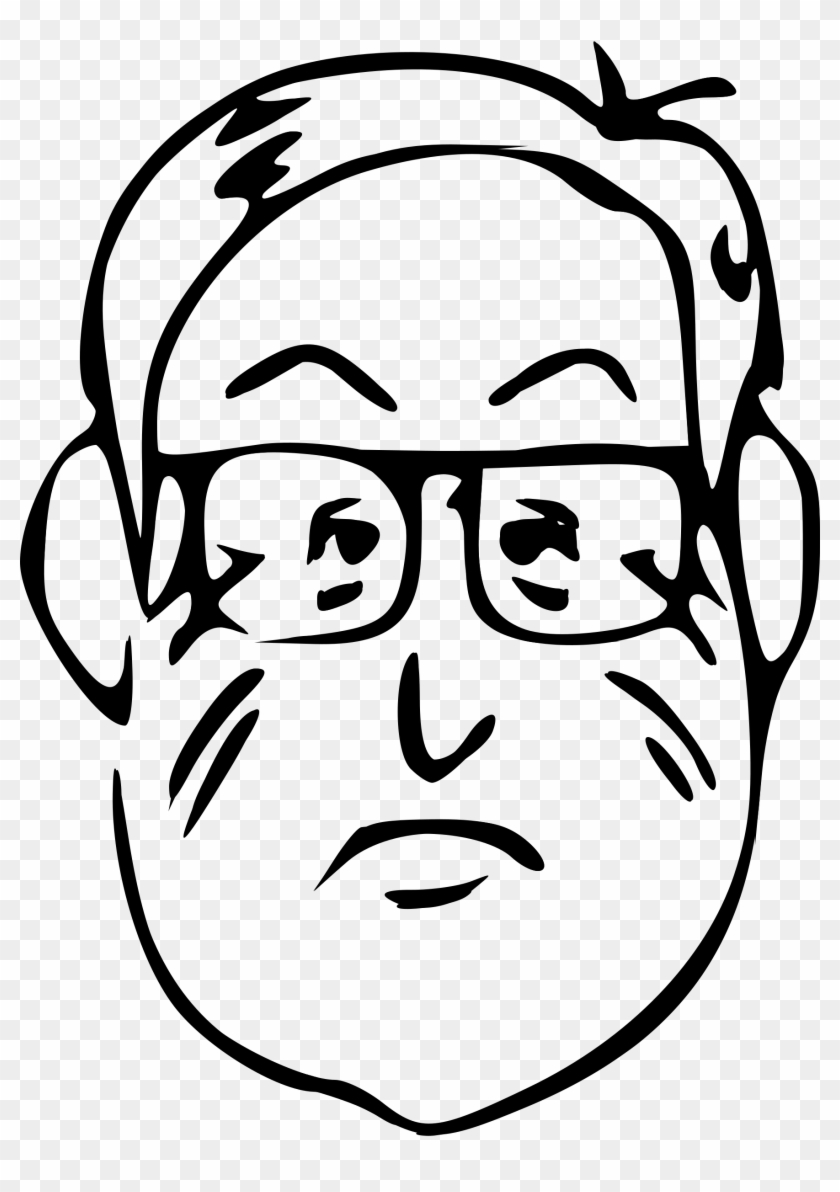 Get Notified Of Exclusive Freebies - Draw A Cartoon Man Face #261559